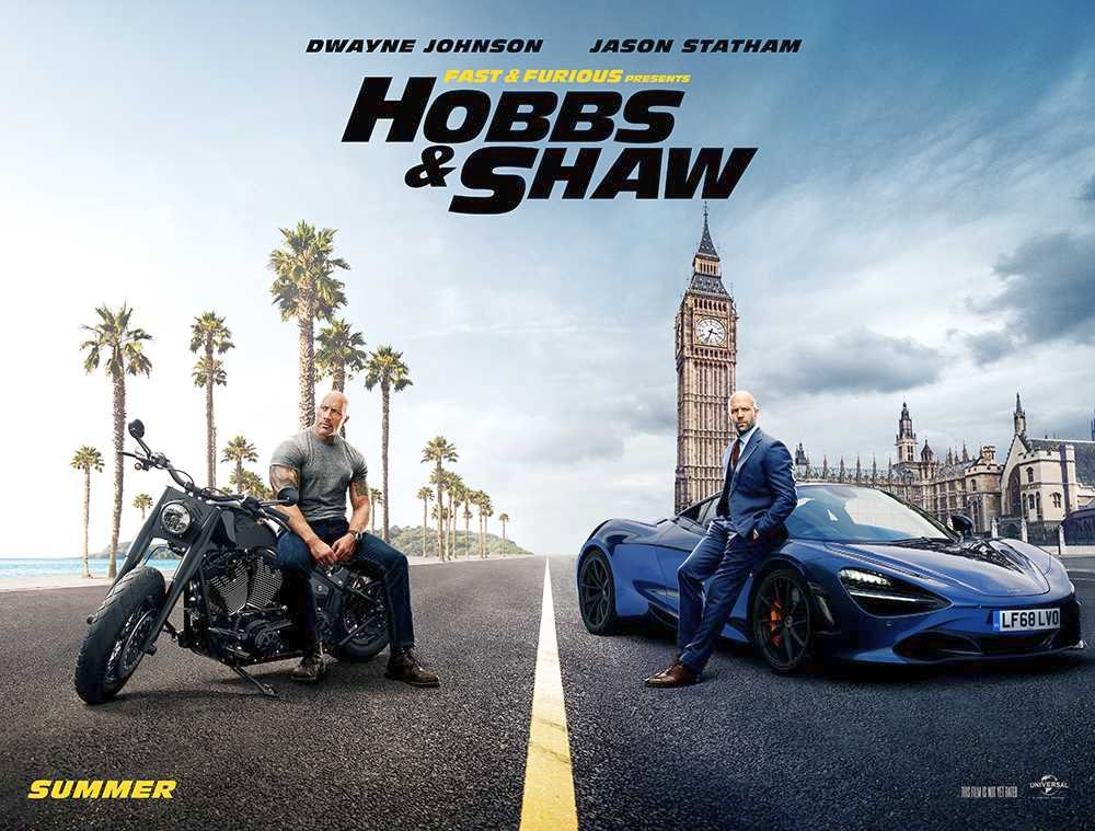 Fast & Furious Presents: Hobbs & Shaw Trailer And Poster Debuts