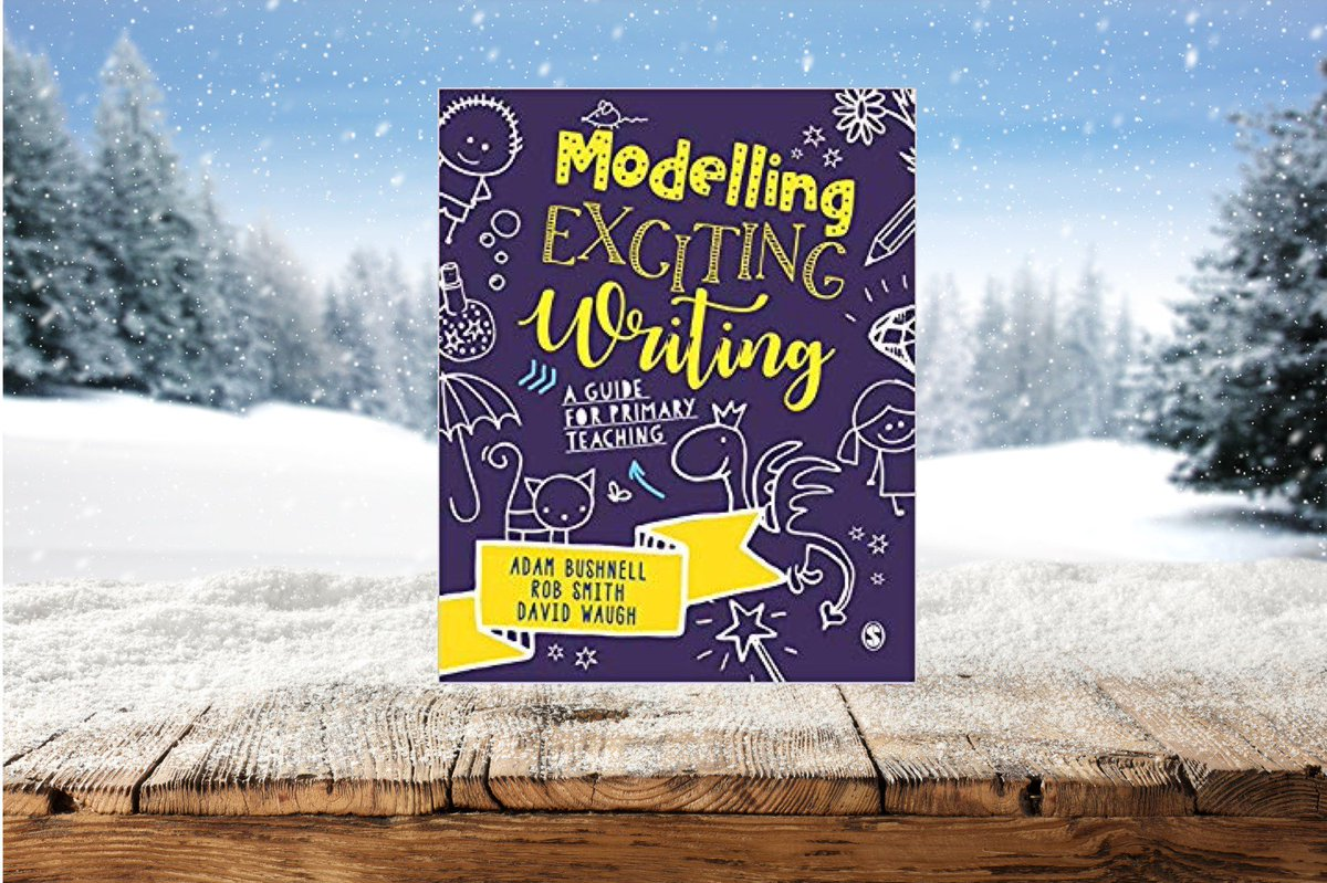 Happy February folks - and happier if you have had a snow day.  I'd like to warm ya cockles by giving someone a free copy of Modelling Exciting Writing by @redgierob, @authoradam and David Waugh.  Simply RT this post and I will pick someone at random on Wednesday 6th February.