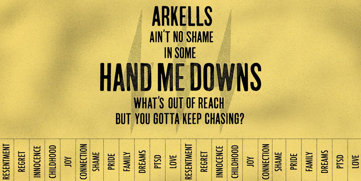 HAND⚡️ME⚡️DOWNS our newest single from RALLY⚡️CRY. Play it loud when you hear it on the 📻. Click through for additional ✨magic✨:  https://arkells.lnk.to/HMD