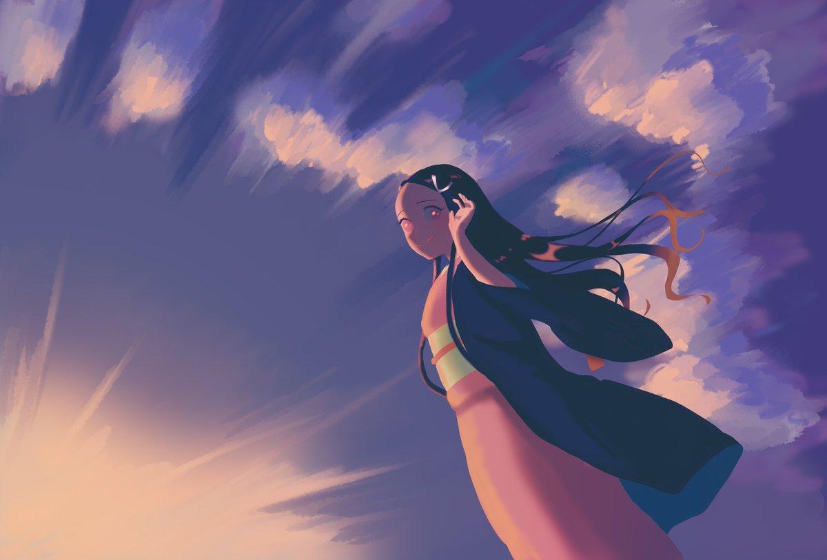 たなびき たる 雲 たる 紫 だ ち の 細く