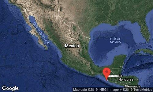 Terremoto de 6,6 grados sacude el sur de México y norte de Guatemala