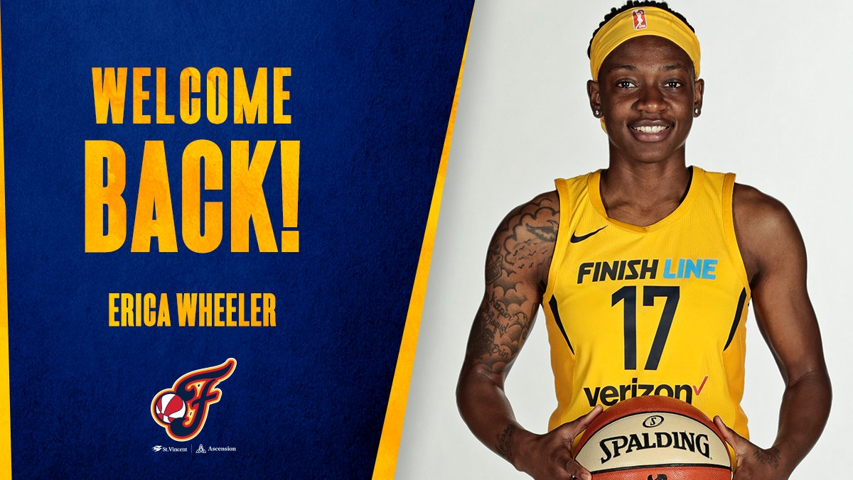 RT @IndianaFever: Fever fans, 🗣 are you ready for some more @EWeezy_For3eezy?! https://t.co/jxnMAmR3li