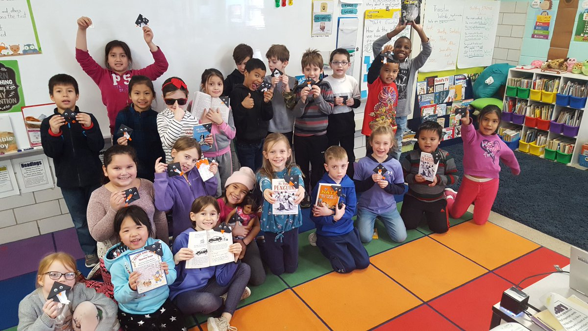 One school, one book. #WorldReadAloudDay #BCPSreads @Hillcrest_BCPS