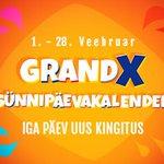 Image for the Tweet beginning: #GrandX saab 8-aastaseks: võta osa