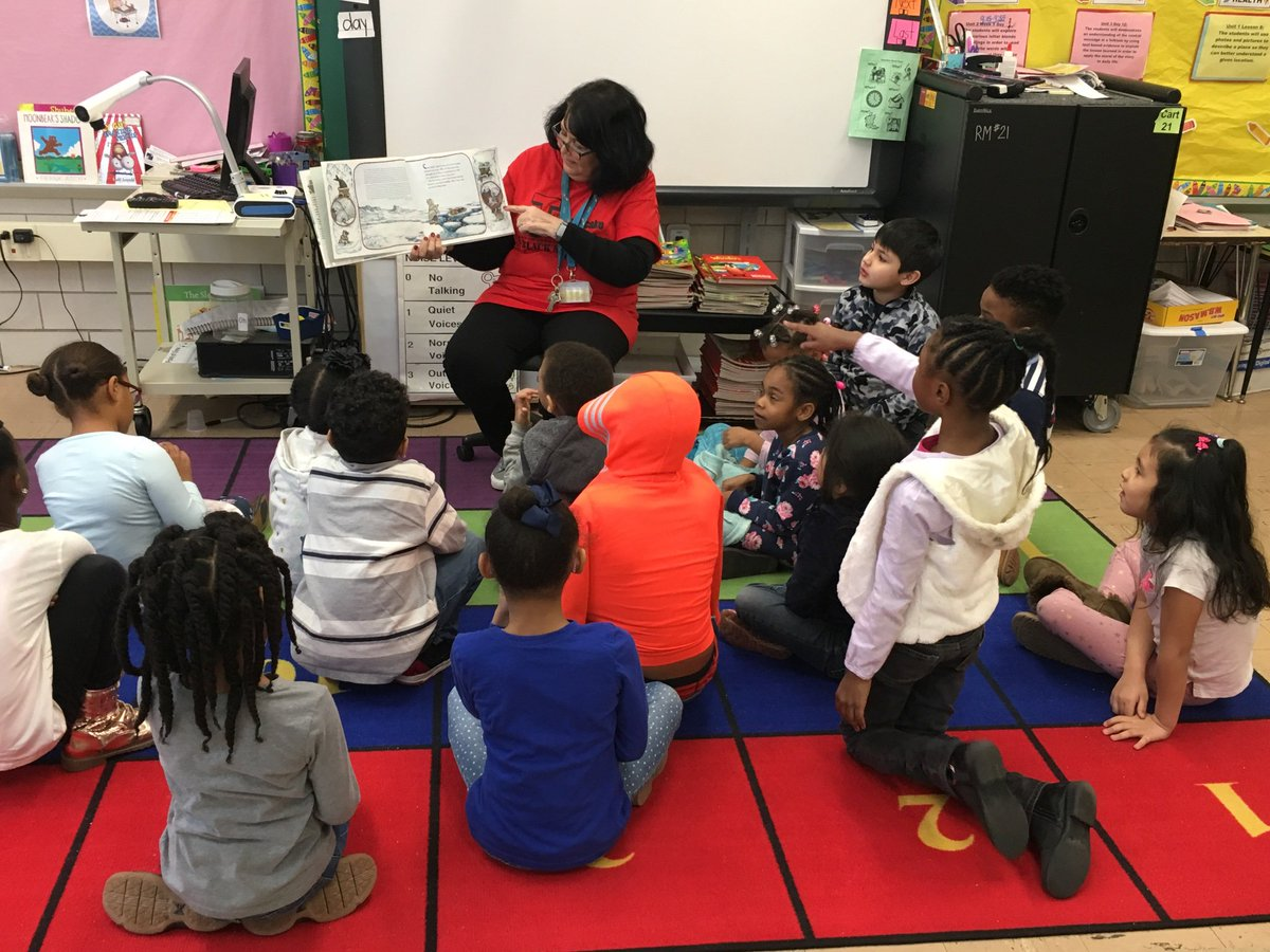 Thank you Mrs. Salaga for reading to us for World Read Aloud Day.