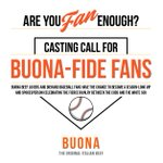 Be selected as BUONA's Buonafide @Cubs fan and win a meet and greet with me and VIP Cubs tickets.  Check out @BuonaBeef's #BuonafideFan contest! They're giving all that away and more! More info can be found here. https://t.co/fcY6r29iiD #ad
