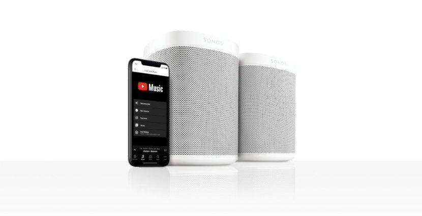 @YouTubeMusic arrive sur les enceintes @Sonos ! Vos oreilles en sont déjà 💕