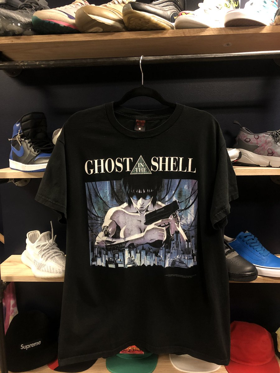 Curedcollection Com Sur Twitter New Items Available Vintage Ghost In The Shell T Shirt Fashion Victim Shirt From 95 Size Large Vintage Nike Aqua Gear Reversible Nylon Overlay Windbreaker Size Large
