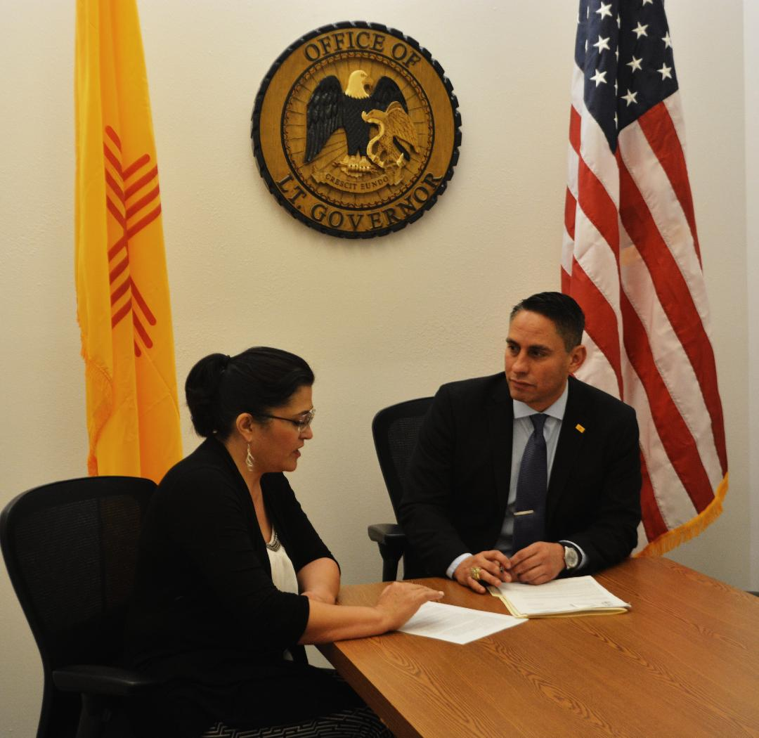 Meeting w/ new @NMPED Secretary,Dr. Karen Trujillo, who brings the leadership public education needs right now.A record of 10 years teaching in the classroom, 20 years in teacher professional development, and a New Mexican. We will transform education in #NM. #PEDMoonSHot #nmleg