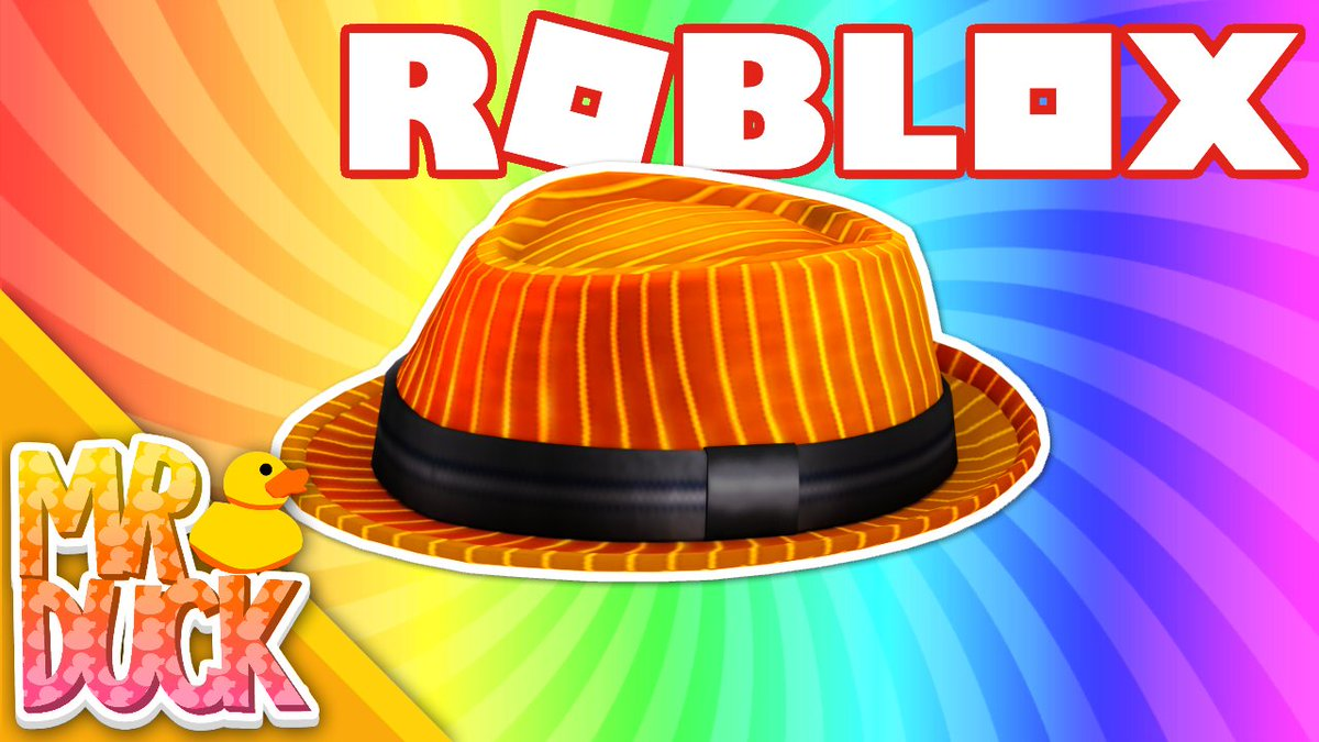 Productivemrduck On Twitter How To Get The Firestripe - roblox fedora code 2019