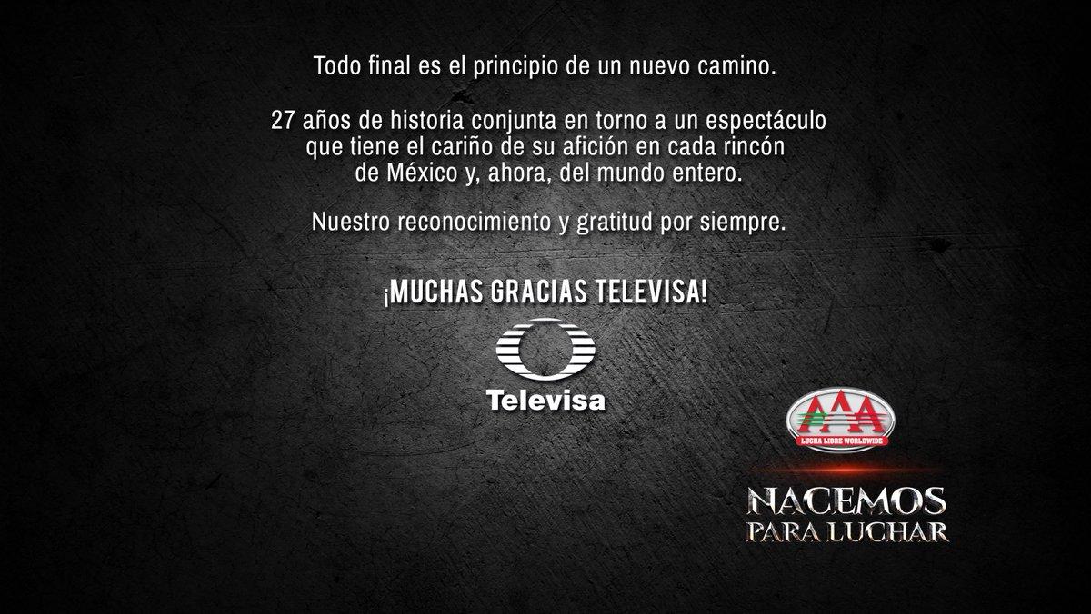 La Triple A se despide de Televisa Deportes