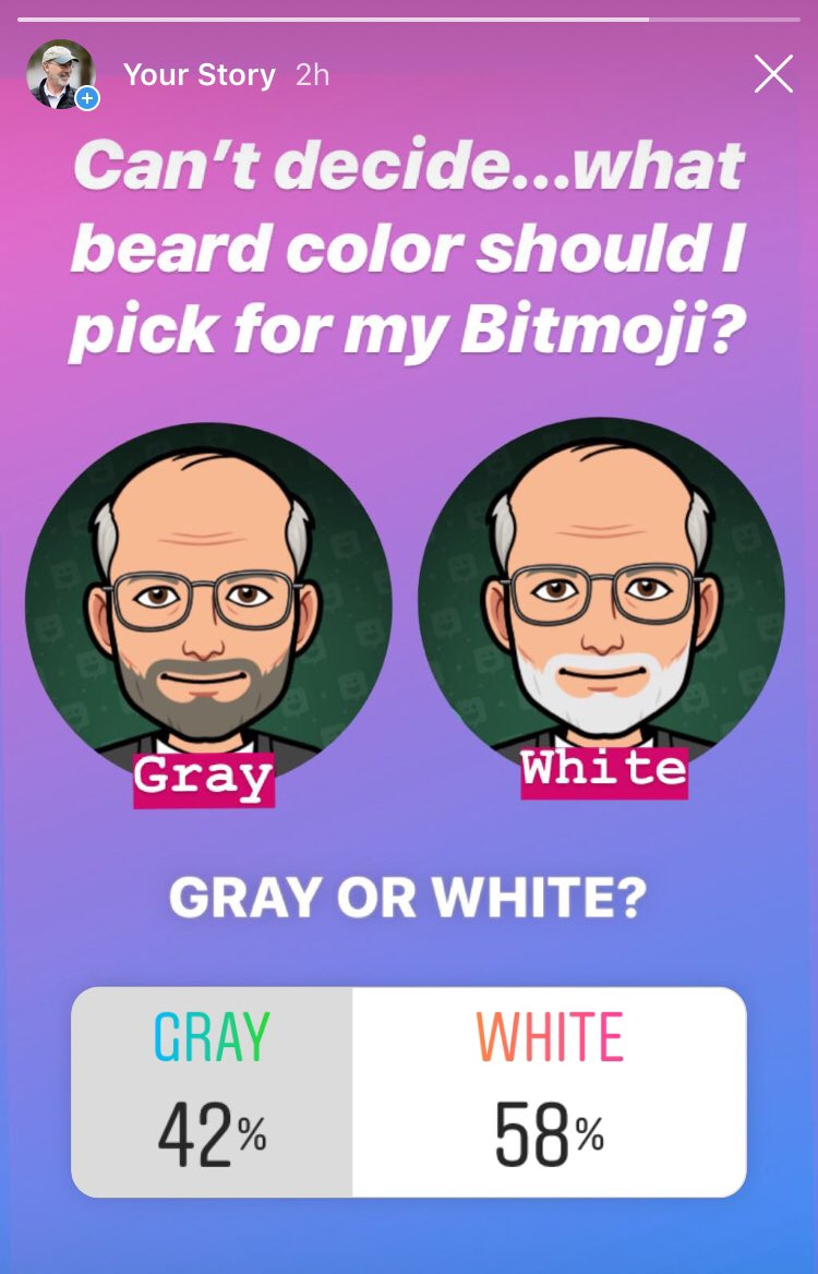 Beard dilemma. Follow me on Instagram and check out my story to weigh in: Instagram.com/governortomwolf.