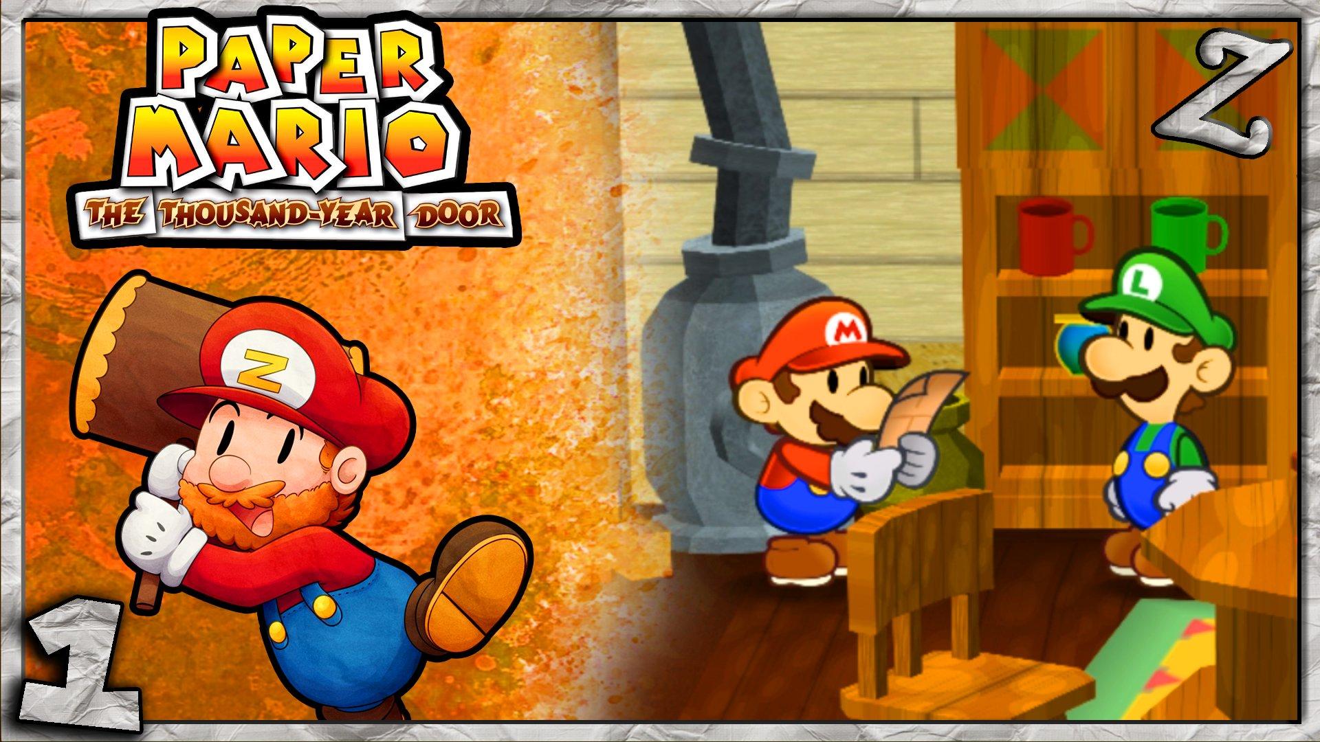 Jack O Mithzantern On Twitter Paper Mario The Thousand Year