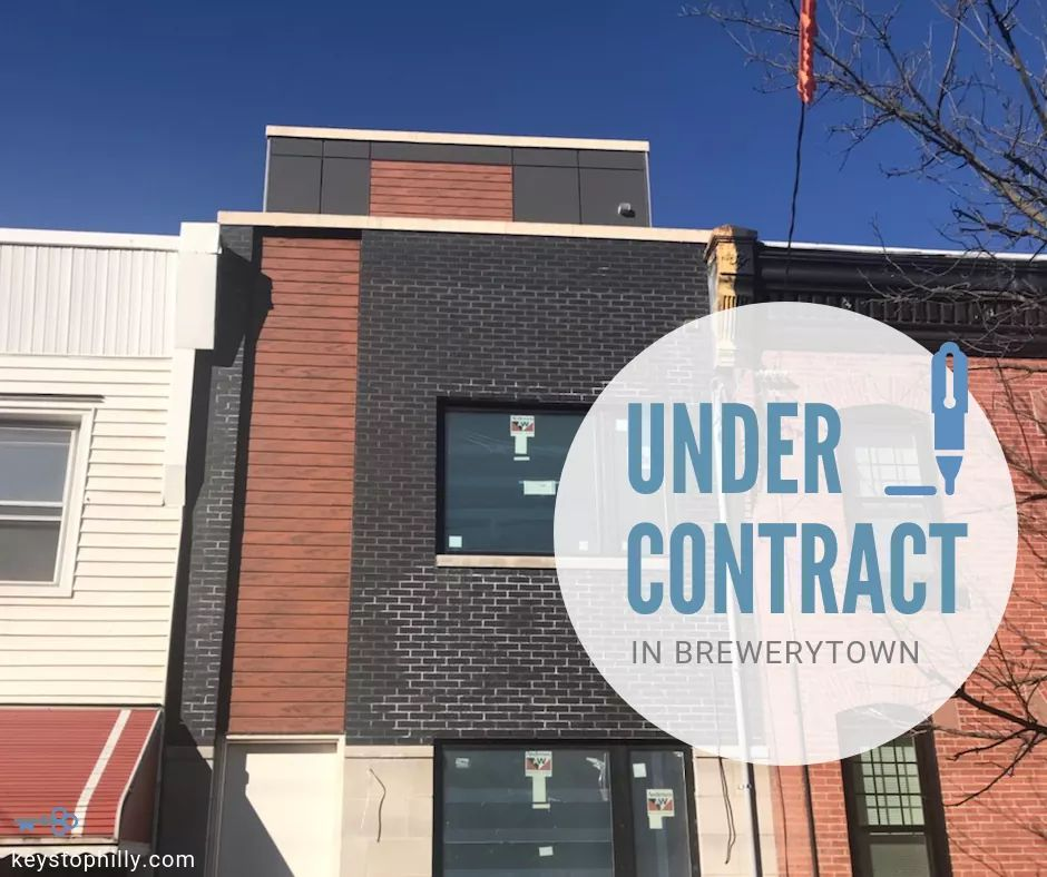 Just went #UnderContract on a still under-construction #Brewerytown property! We got this one sold off-market for our client, before it even got listed. There's nothing more satisfying in our biz than a smooth transaction like this one.  How can we help get your property sold?