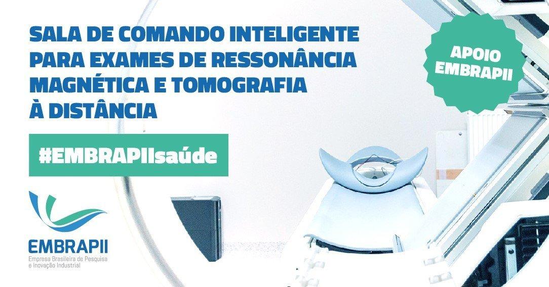 Com a parceria entre a Unidade EMBRAPII Fundação CERTI e a empresa Siemens no Brasil, foi possível desenvolver a Virtual Operation Center (VOC), uma sala de comando inteligente para fazer ressonância magnética e tomografia à distância.   #InoveParaCrescer #ApoioEMBRAPII https://t.co/Eoc8zzNlhI