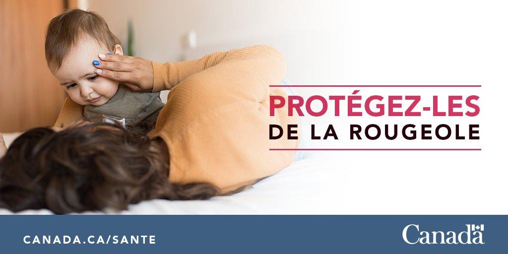 La #rougeole est une maladie grave et très contagieuse, qui peut être mortelle. Protégez vos proches contre la rougeole. Assurez-vous que leurs vaccins (et les vôtres) sont à jour. http://ow.ly/J3GG30nxZOM #vaccinsfonctionnent