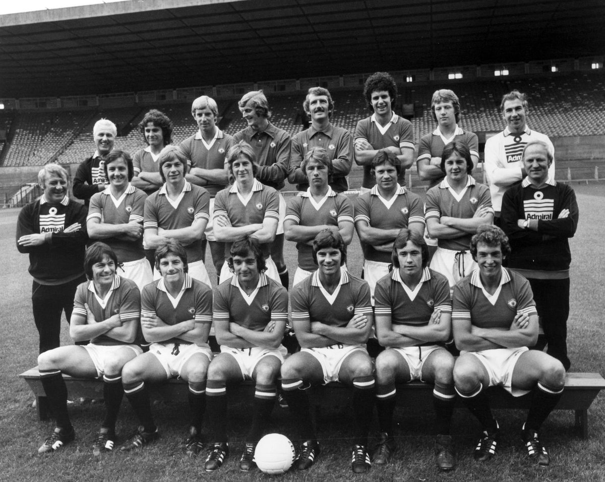 #ManchesterUnited 1976 ... some great players here ..@ManUtd #MUFC