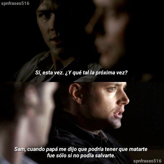Supernatural Frases En Español En Twitter Supernatural