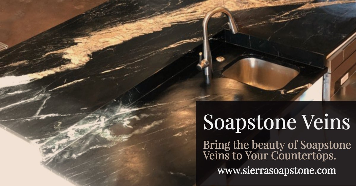 Bring The Beauty Of Soapstone Veins Into Your Kitchen Sierra Marble Granite Fabricators And Installers