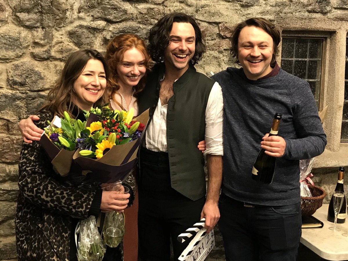 And that's our final wrap! Thank you for all your support, we can't wait to show you #Poldark S5 later in 2019 🥳