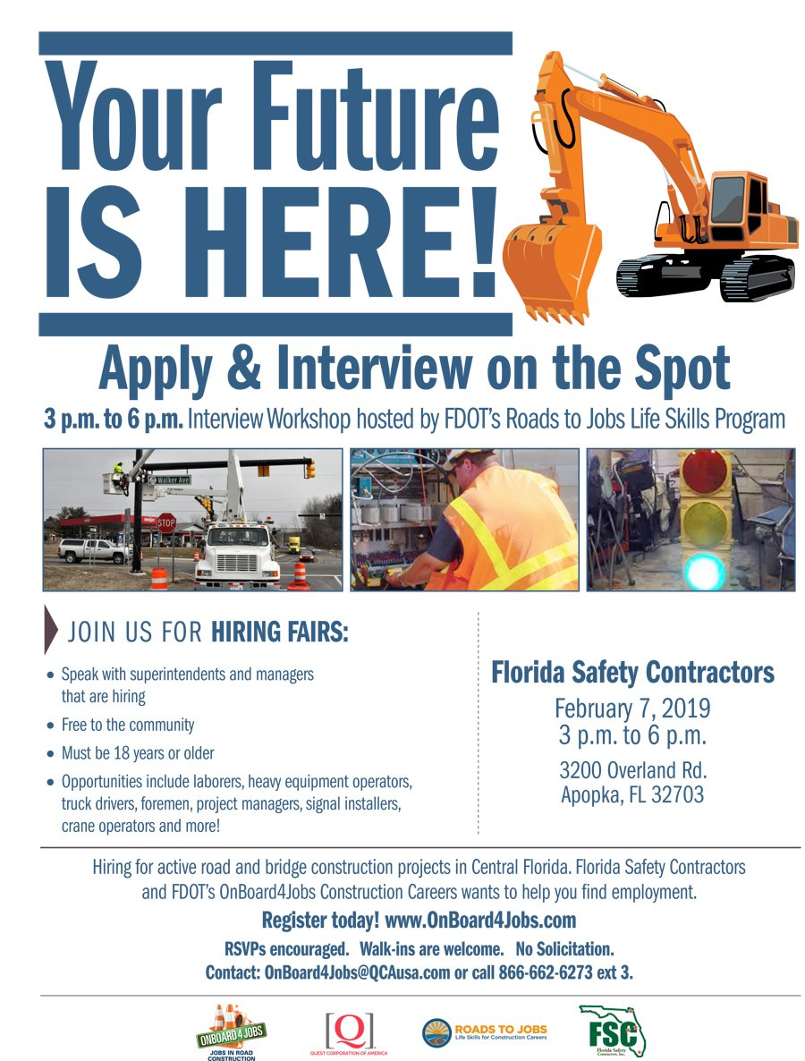 Metroplan Orlando On Twitter Florida Safety Contractors And