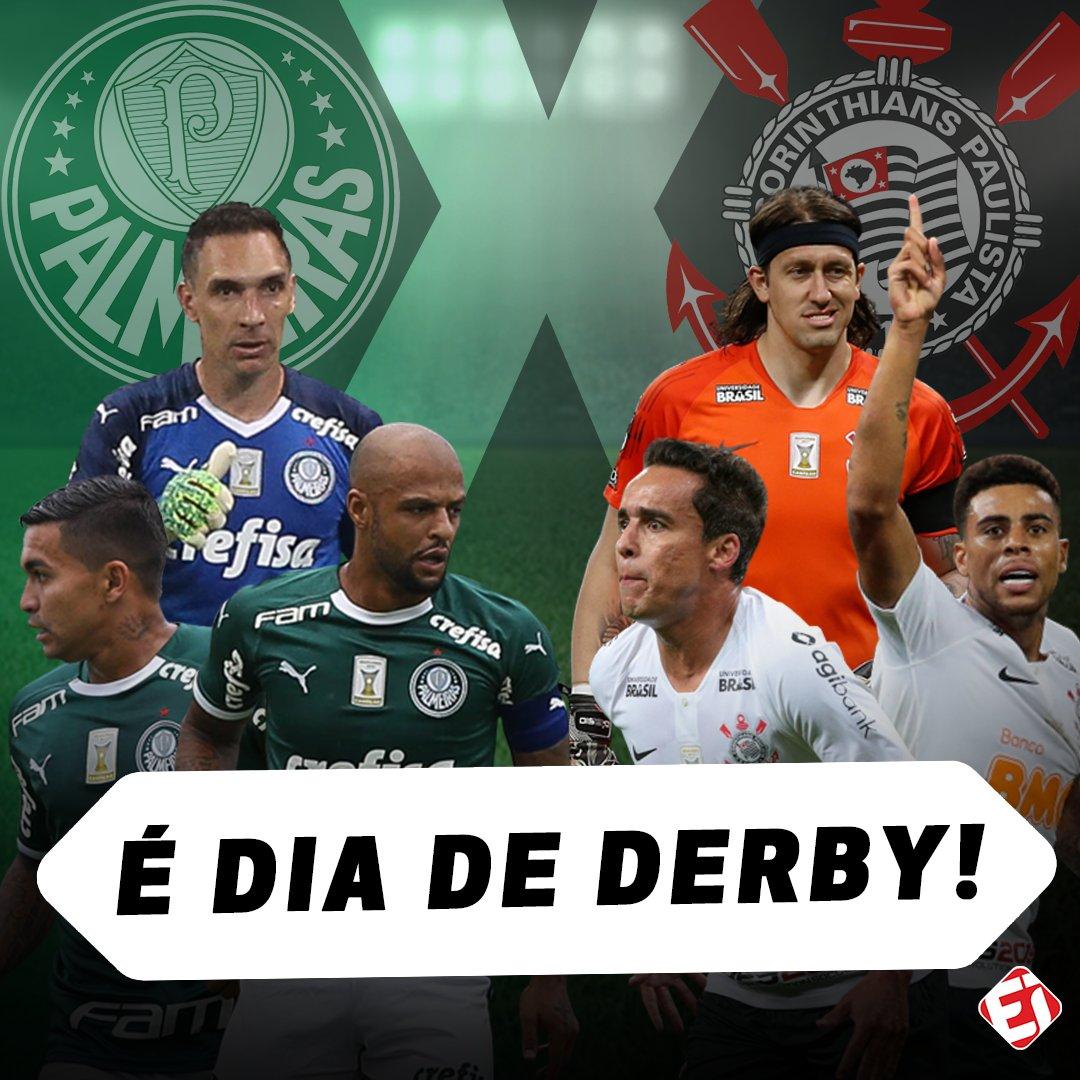 10b8e77184802 hoje tem um dos maiores classicos do mundo quem vai levar o derby paulista