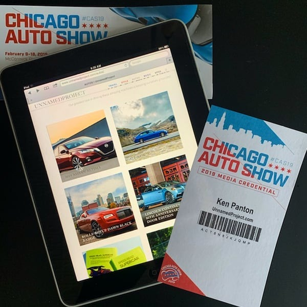 It's almost show time #CAS19 #autoshow #firstlook #mustvisit #alwayssomethingnew #styleautos @ChooseChicago http://unnamedproject.com/autos/ @ChiAutoShow