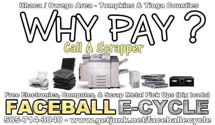 free scrap metal pick up