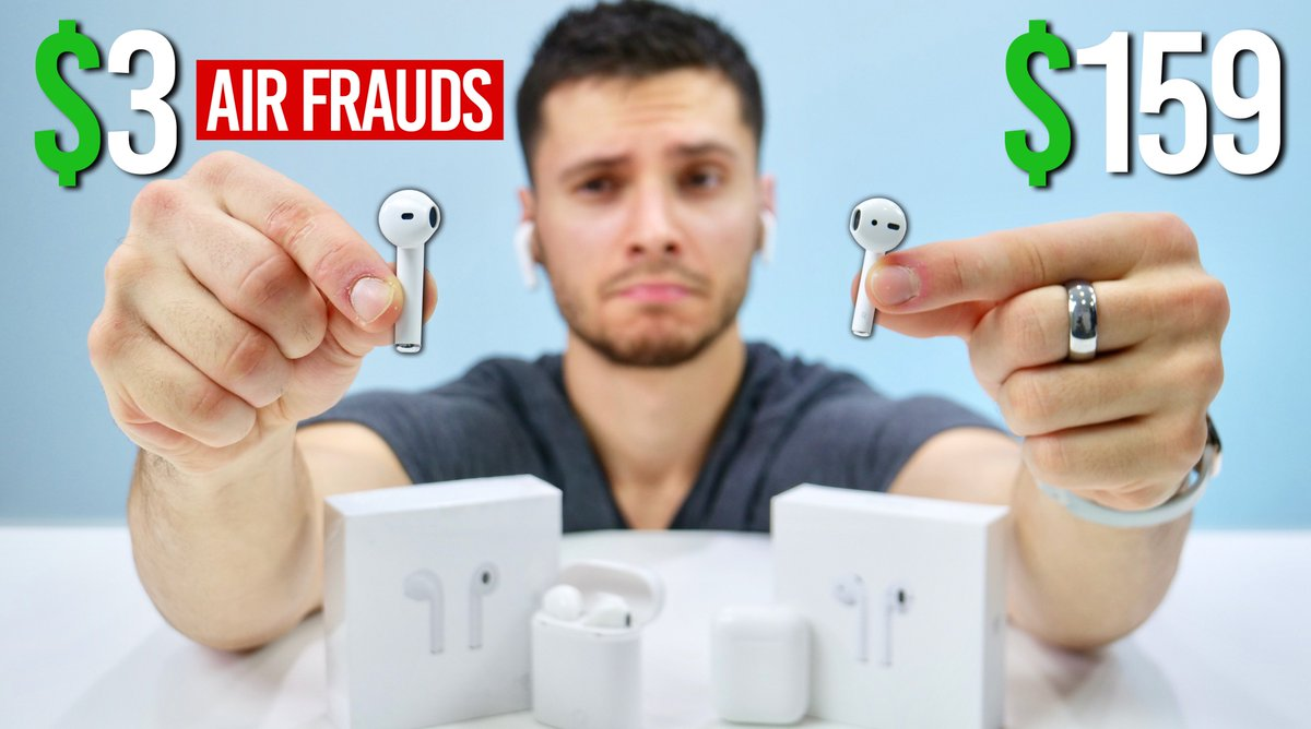 Everythingapplepro On Twitter 3 Fake Airpods Are Bottom Of The Barrel Airpods As Terrible As They Seem Https T Co Vwfvatfpds