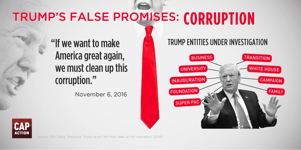 Image result for trump corruption