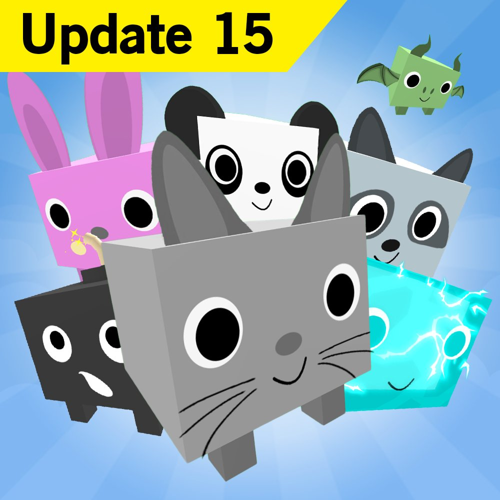 Big Games On Twitter The Final Update For Pet Simulator Update