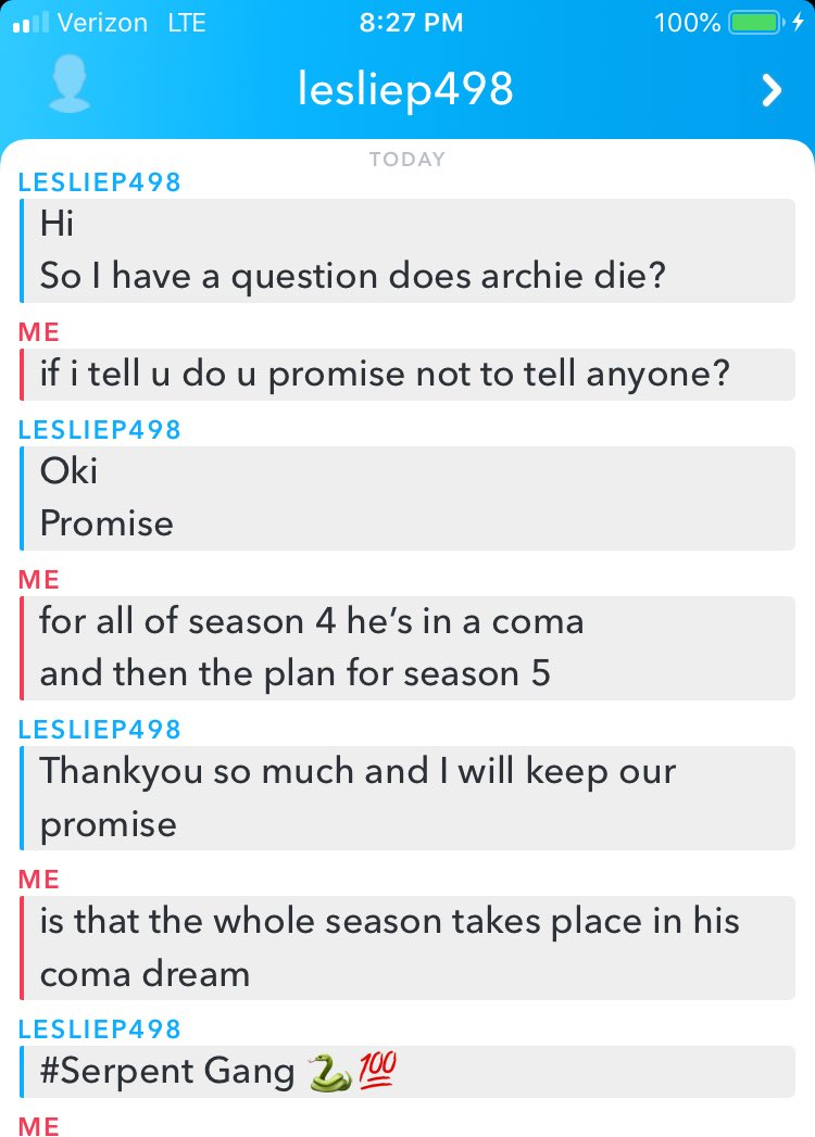 RT @ColesTwitt3r: a girl on snapchat thinks i'm Cole Sprouse also i've never seen Riverdale https://t.co/GRdVGhcpMP