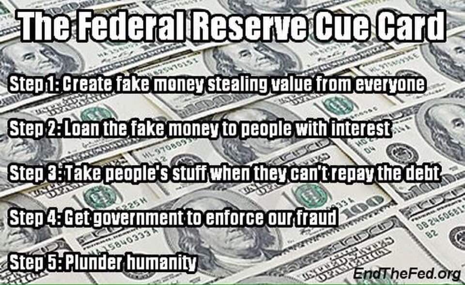 Image result for our Fed is counterfeiting the dollar