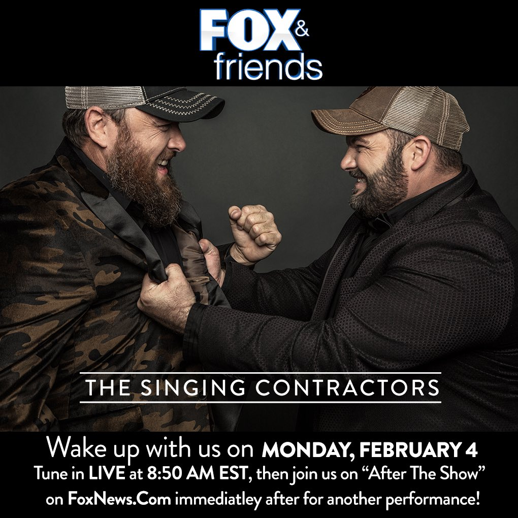The Singing Contractors At Singingcontract Twitter