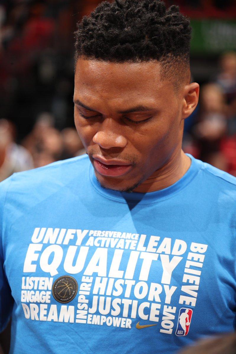 Throughout February, all NBA teams will wear custom Nike #BHM warmup shirts. #NBABHM #NBAVoices