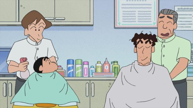 漫画のキャラクターが床屋に行く話の時だけ急に髪が伸びるのはなぜww