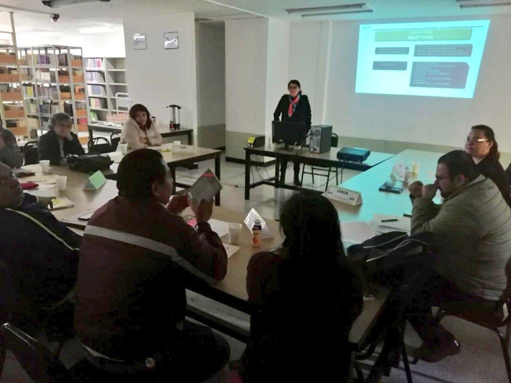 Reunión de trabajo del Depto. de Bibliotecas y fomento a la lectura de la DGESPE con los encargados de bibliotecas de las escuelas normales de la CDMX. Sede: ENSM. #SomosNormalistas @MarchaChavez
