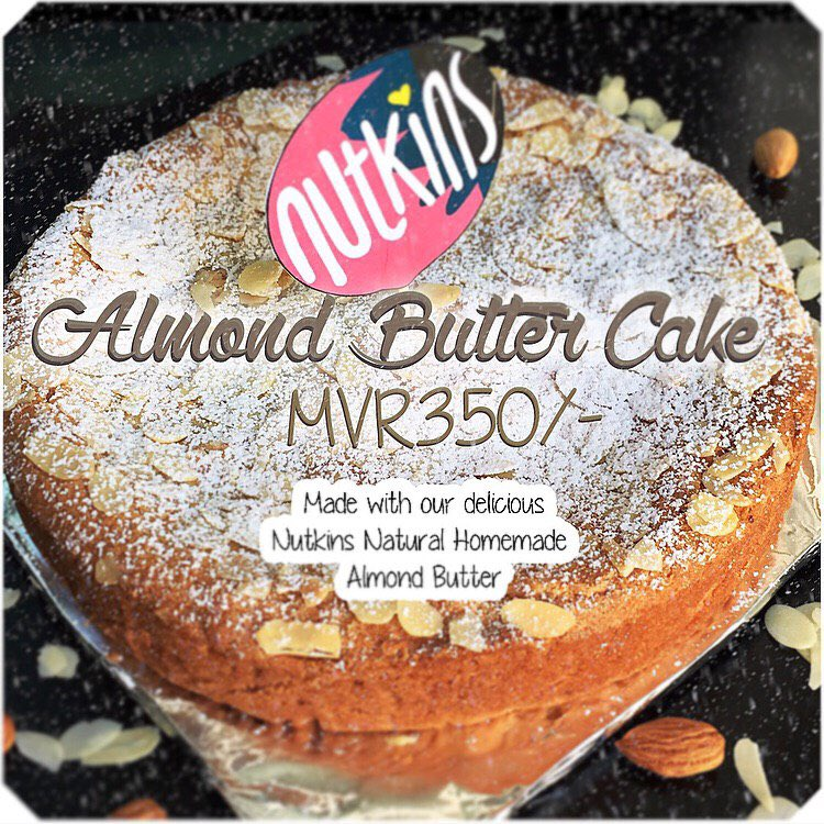 The Nutkins Almond Butter Cake Made With Our Delicious Butters A Rich Dense That Will Leave You Wanting More