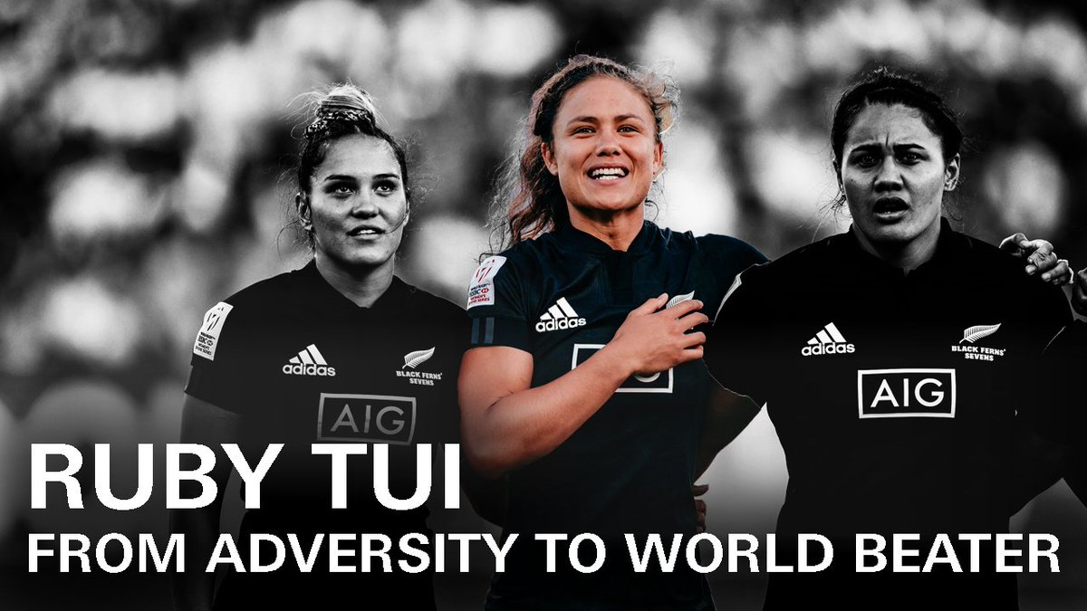 You can now go down to the shop to buy a @BlackFerns Sevens jersey. This sport is grown and growing and @Rubytui is leading the way. Watch her incredible story here. ⬇️