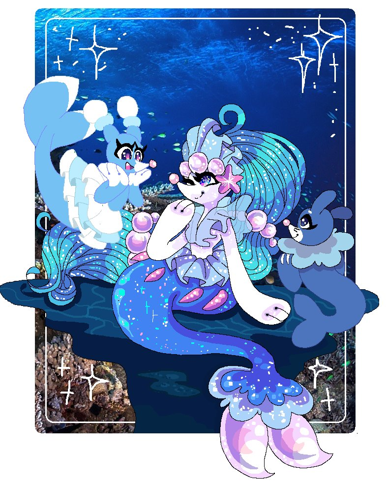 Popplio Evolution Pokemon Popplio Brionne Primarina Tweet Added