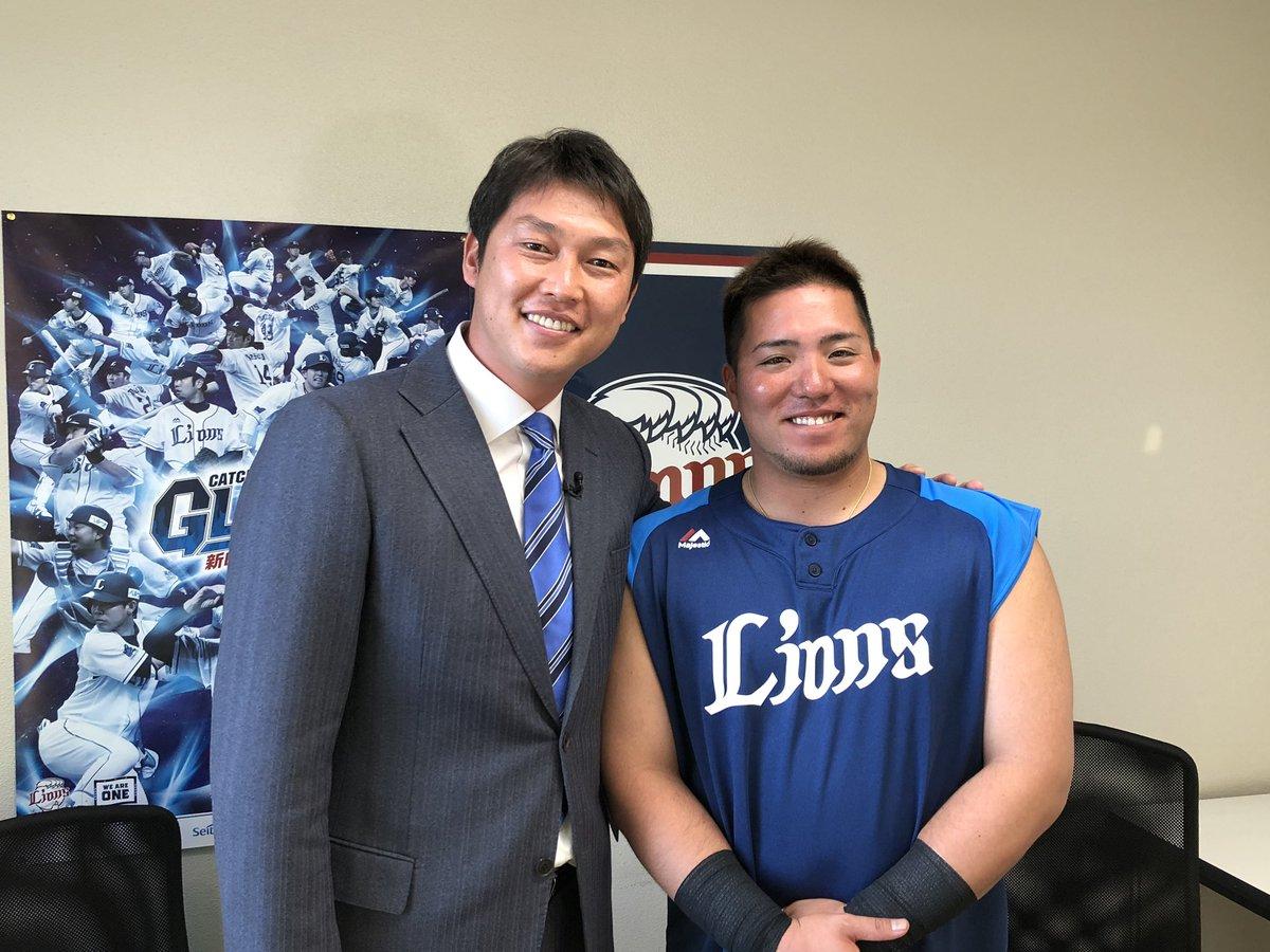 "TBS 野球『S☆1 BASEBALL』 on Twitter: ""新井貴浩キャンプ初取材 2日 ..."