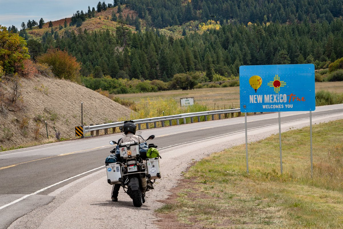 A traveling motorcyclist stops to be welcomed #NewMexico #photooftheday #travelphotography #travel #travelphotos #tourism #travelgram #trover #picoftheday #instatravel #traveling #mytravelgram #travelingram #igtravel #traveler #SonyAlpha #sonyalphagallery #motorcycle