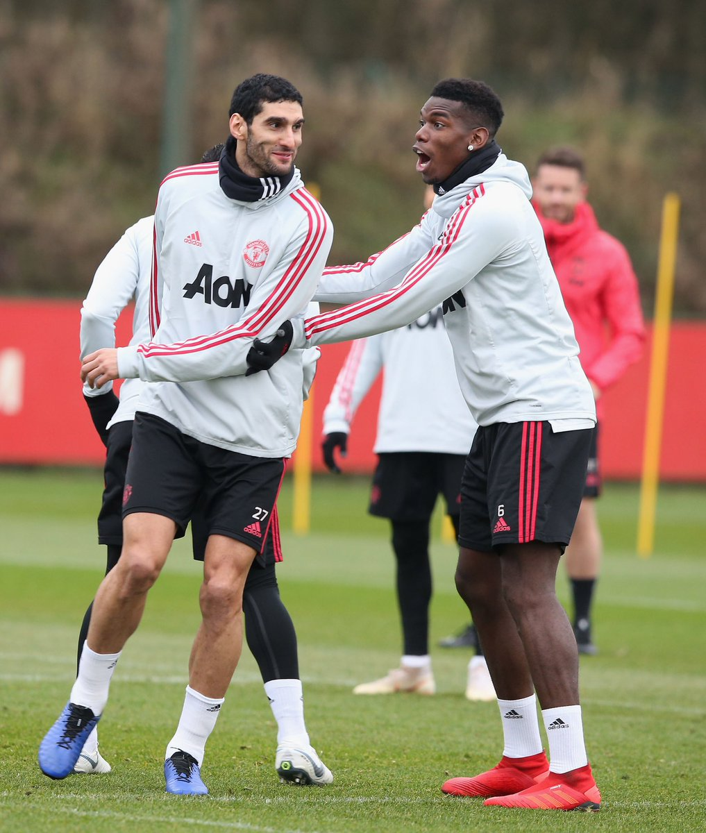 My bro I wish you all the best in your new club. I'm gonna miss you here man... thanks for all the advise, for your help, only few real real brother in football and you are 1 of them,  love my bro @Fellaini 🤲🏾❤️🙌🏾 #daretocreate