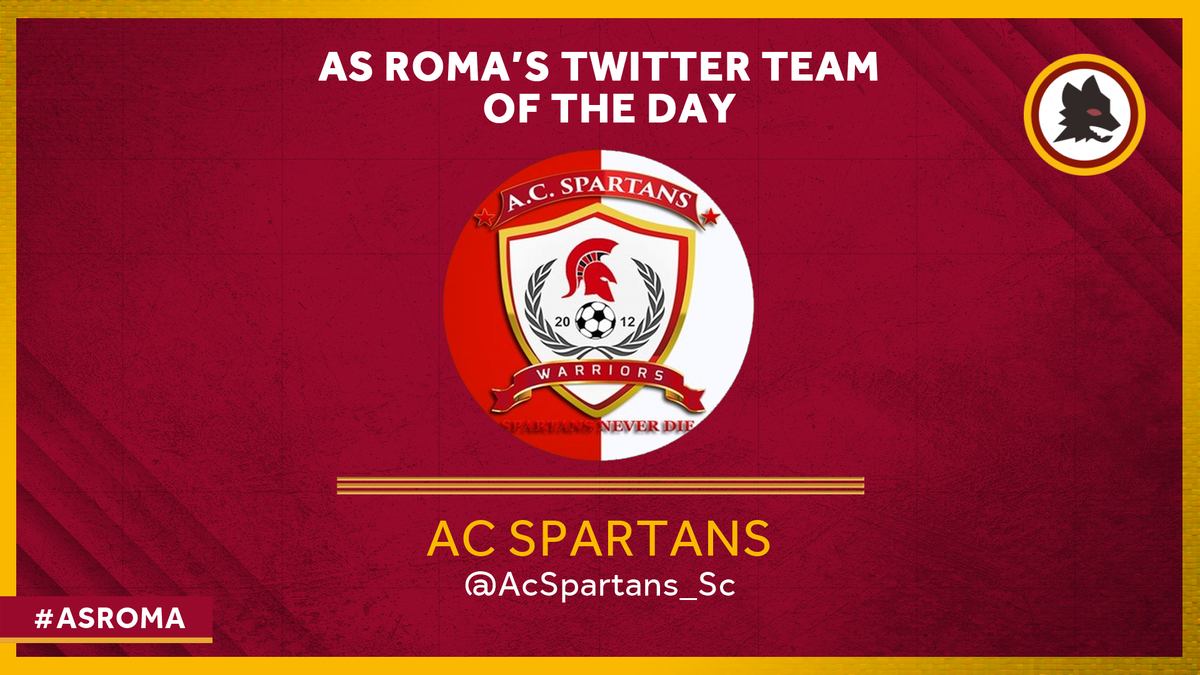 #ASRoma's Twitter Team of the Day is Ghana's @AcSpartans_Sc. An amateur club from the vibrant working class Community 8 district of Tema, they were born in 2012 out of the street leagues organised by young tenants from the local flats. Seven years on, they're our Team of the Day!
