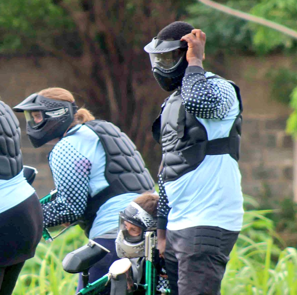 Ladies and gentlemen Let the games begin #WeAreRapid #paintball #Abuja #Fun #action #battlegames #runhideshoot #adventure #extremesport #Weekend #squad #noretreatnosurrender #adrenalin #team #AbujaTwitterCommunity