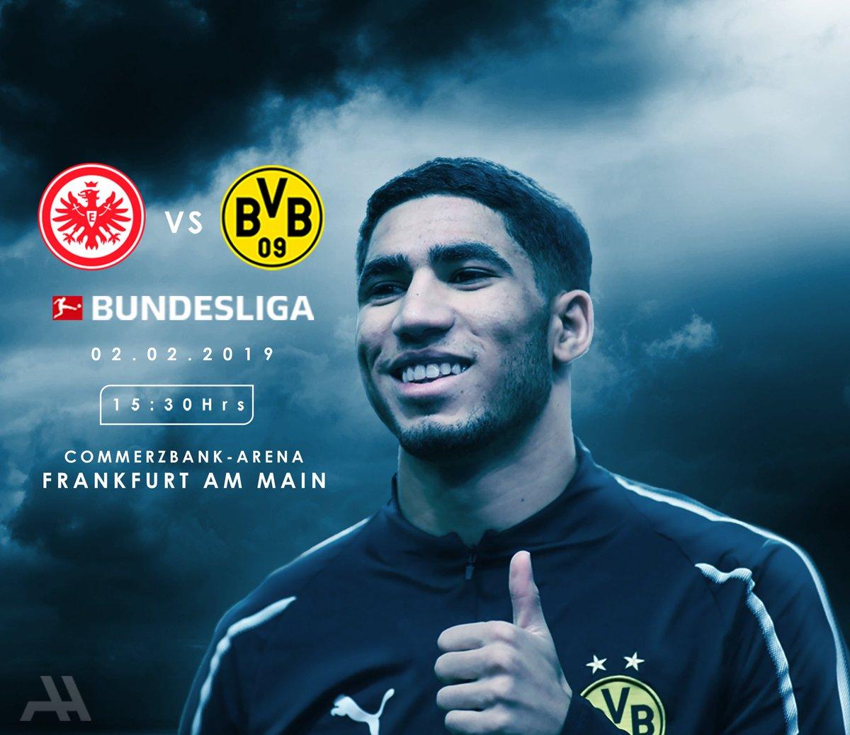 🏆 Bundesliga  🆚 Eintracht Frankfurt 🏟 Commerzbank-Arena  🗓️ Saturday, February 2nd ⏰ 15:30 ⚽️🐝 #SGEBVB
