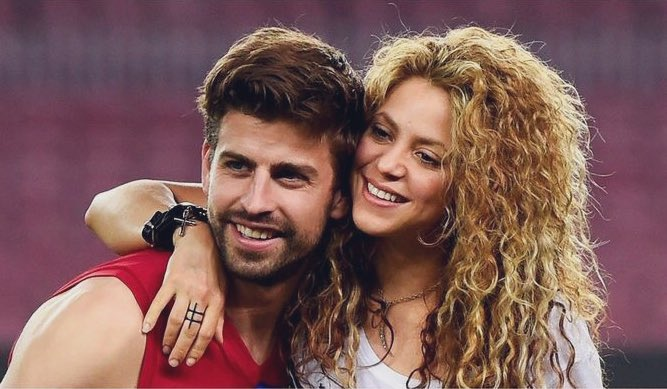 Happy birthday to the cutest couple, Gerard Piqué and Shakira..!!
