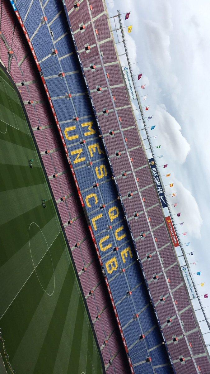 Here for #BarçaValencia 02.02.19 🇮🇪 @FCBarcelona