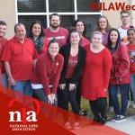 Image for the Tweet beginning: .@nationallipid and #FoundationoftheNLA staff wore