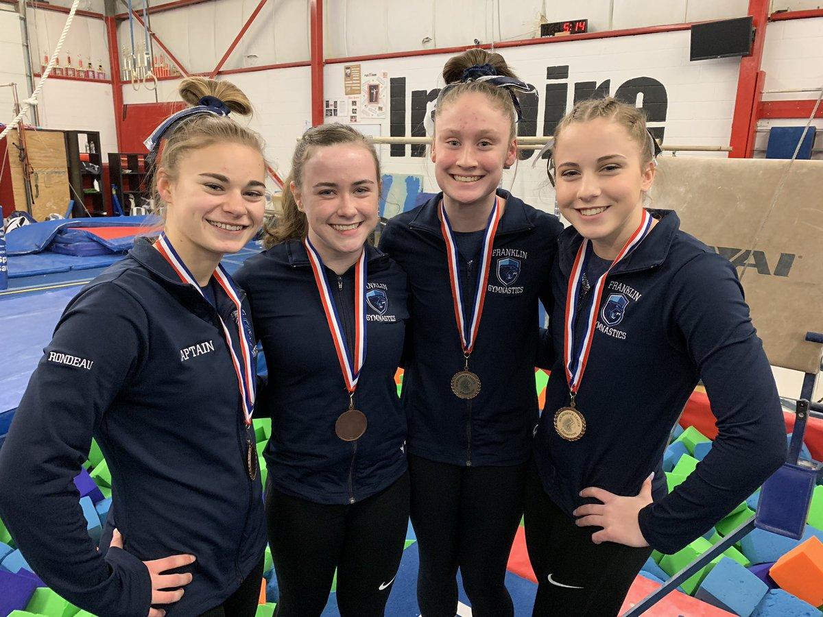 FHS gymnasts